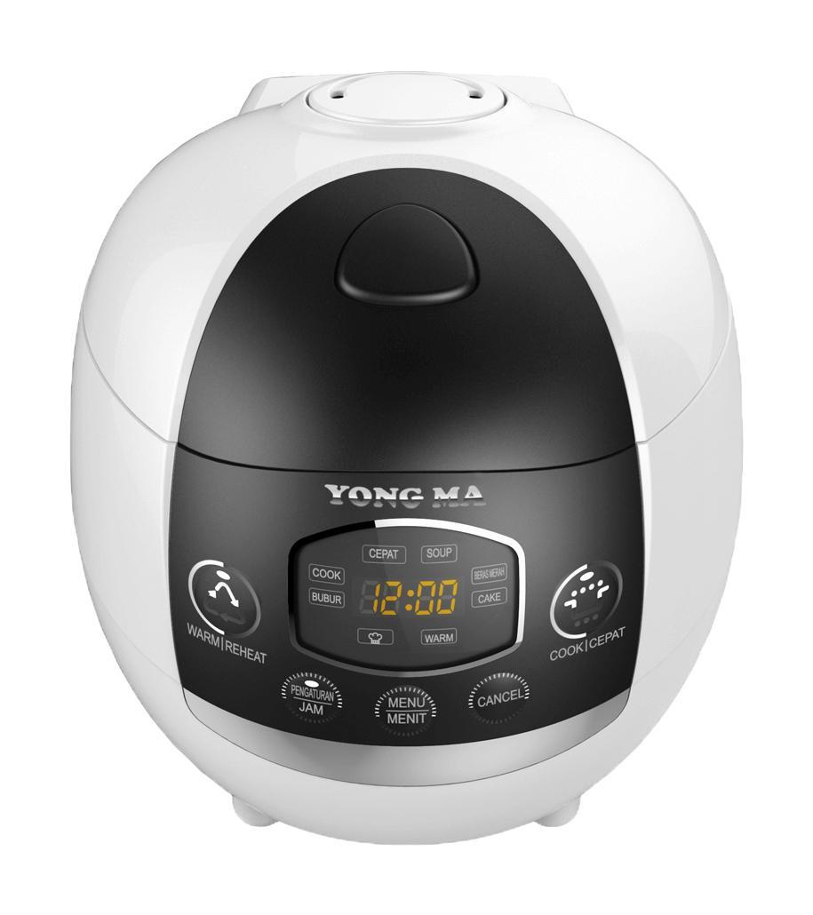 Yong Ma MC 1380 Magic Com Digital 1.3 Lt - Hitam