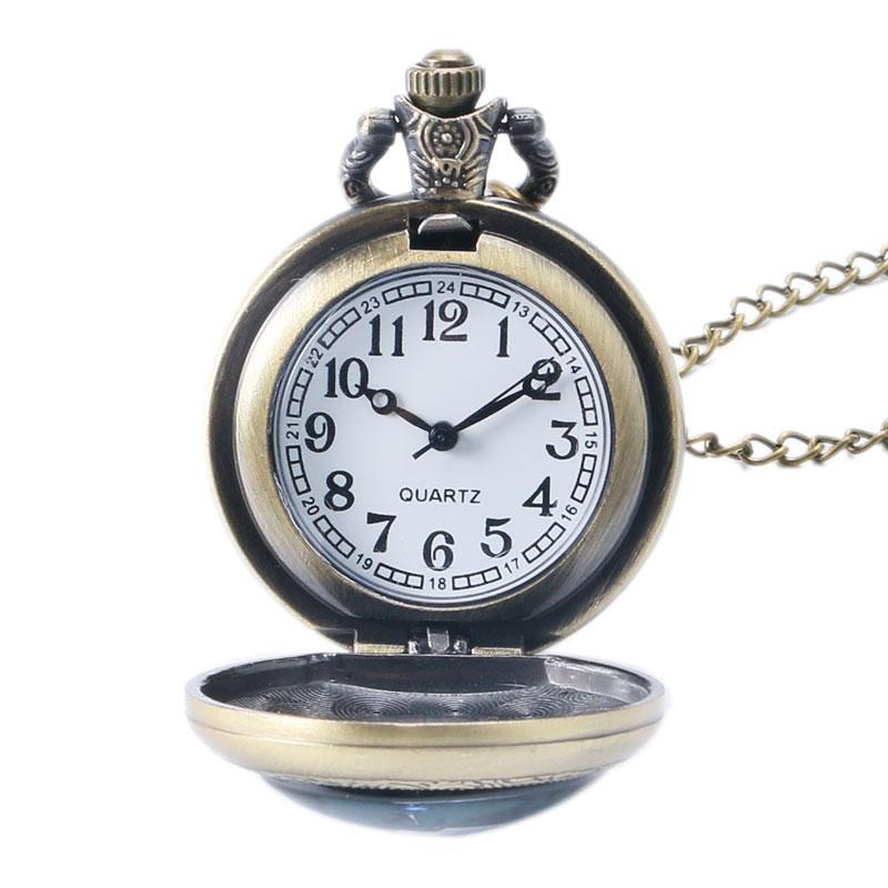Hot Game WoW World of Warcraft Hearthstone Theme GlasDome Case Quartz Pocket Watch With Chain Necklace Malaysia