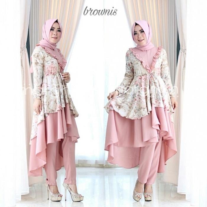 Brownis dress ori by marghon