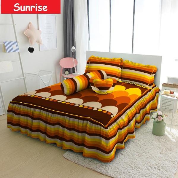 Kintakun Sprei D'Luxe Rumbai Uk. 180x200 - Sunrise