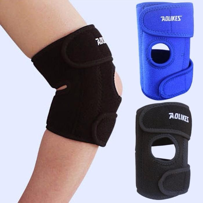 Elbow Supports Aolikes 1Pcs wristbands bandage safety Elbow Knee Pads - eTb6Uk
