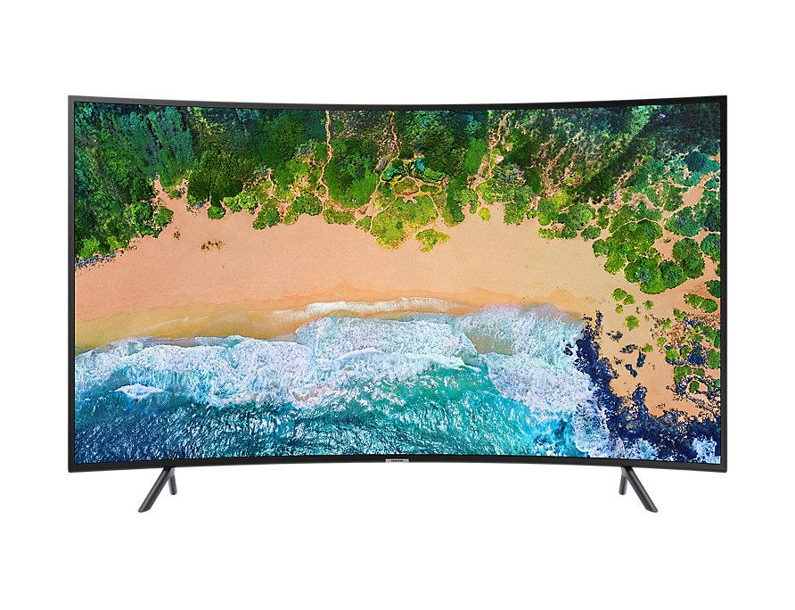 Samsung 55 Inch UHD 4K Curved Smart TV UA55NU7300K .
