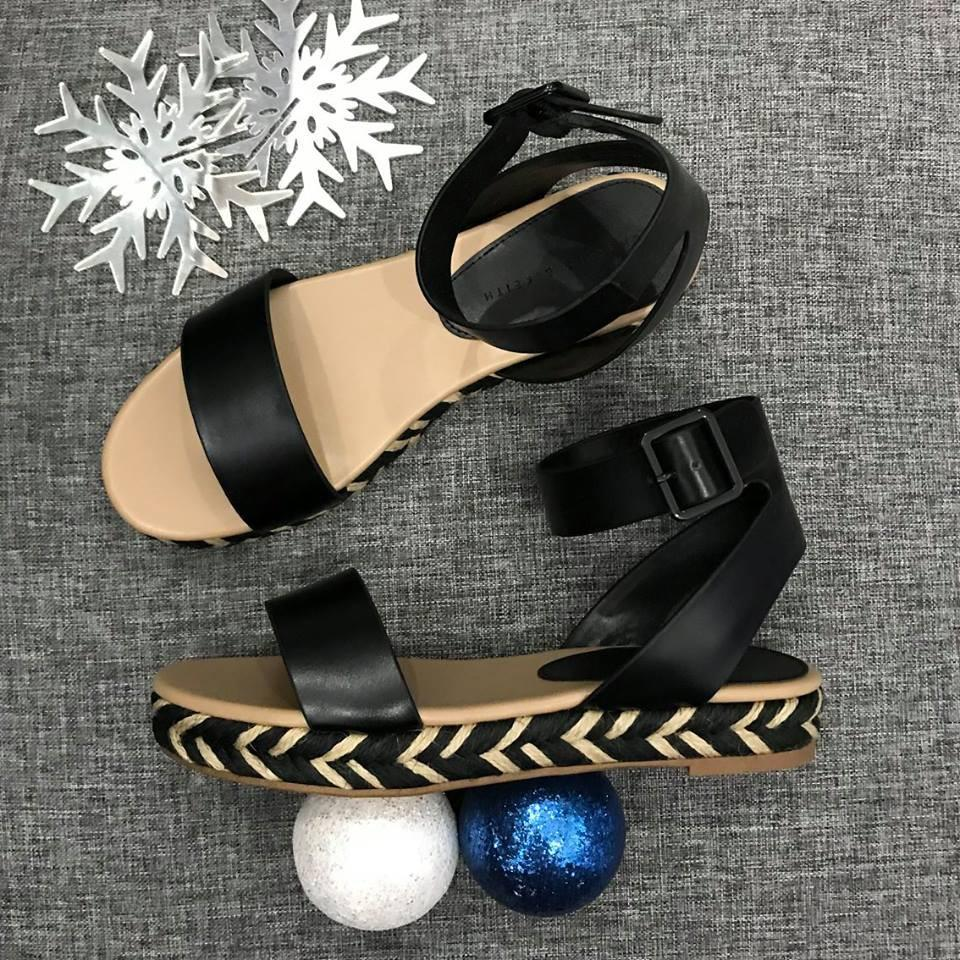 SANDAL CHARLES AND KEITH ORIGINAL 70050064 BLACK
