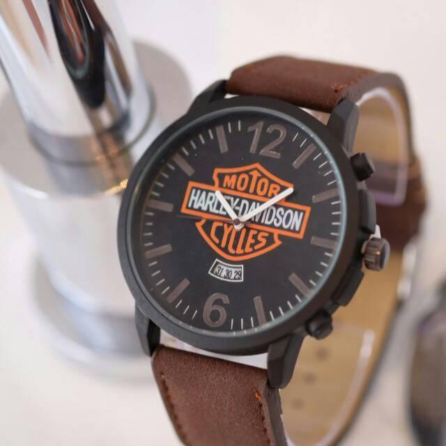 Jam Tangan Cowok/Pria Harley Davidson R1291