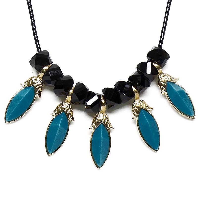 ... Modern Necklace Accessories Panjang 53 cm. Source. Source · OFASHION Aksesoris Kalung CA-180314-K012 Necklace Fashion Xuping Jewelry Hitam Biru