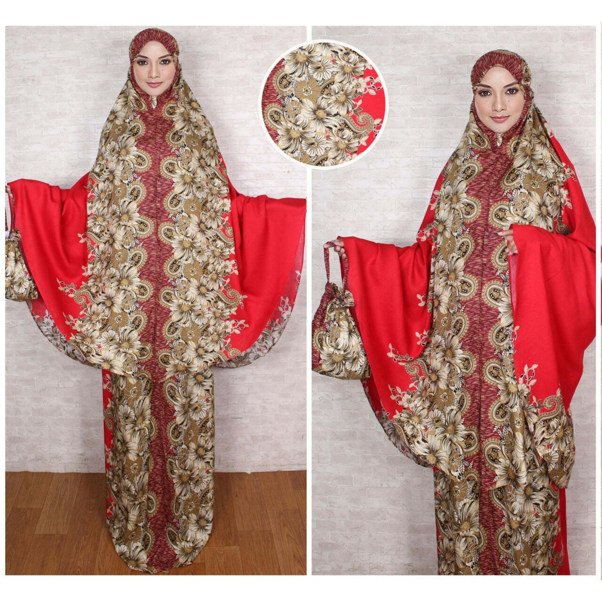 febryant shop - Pakaian Muslimah Mukena Wanita Fashionable - Mukena Batik Solo