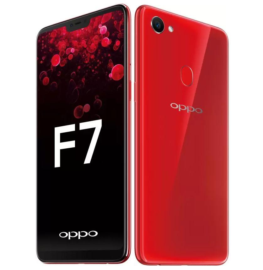 Ukuran Layar 623 Inch OPPO F7 SOLAR RED SMARTPHONE 4GB 64GB