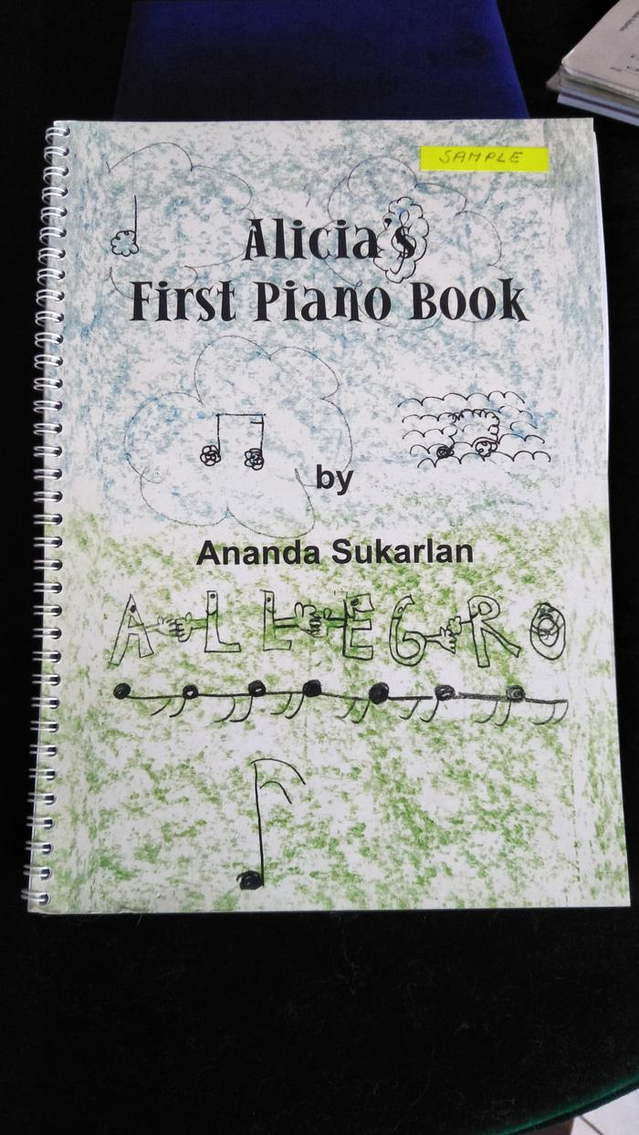 Buku Musik ( Alicia's First Piano Book ) Allegro By Ananda Sukarlan