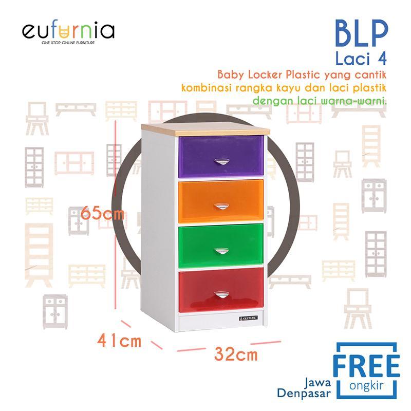 Eufurnia Olympic Baby Locker Lemari Batu Warna Warni - BLP0112405