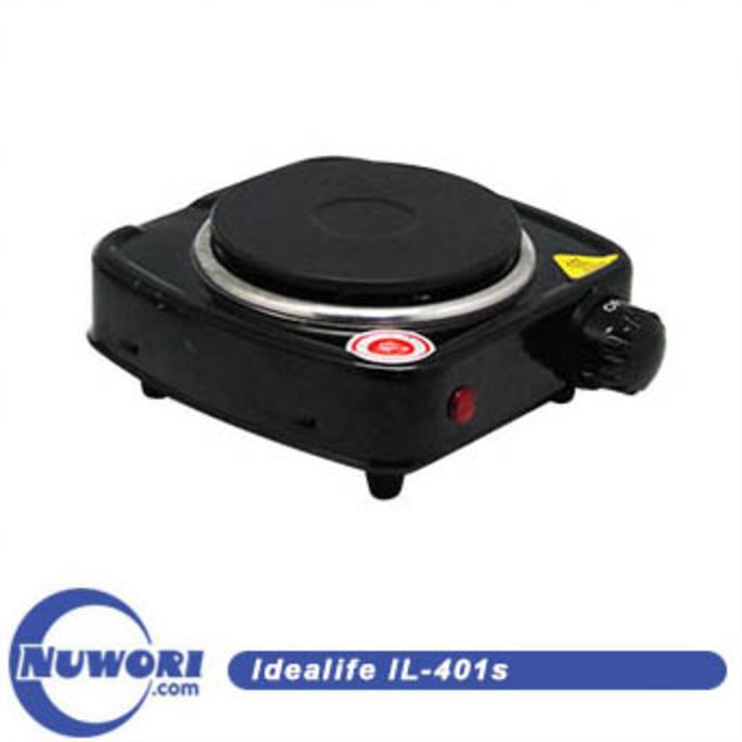 Promo !! Kompor Listrik 1 Tungku - Idealife Il-401S Electrical Stove (Single) - Stok Terbatas !!