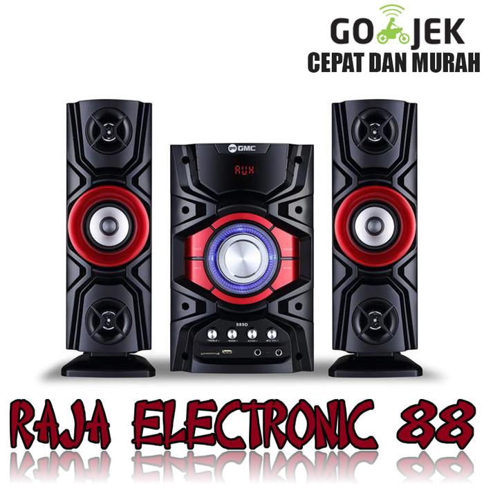 Referensi Speaker Aktif GMC 889D Speaker Aktif - Bluetooth Connection - Merah