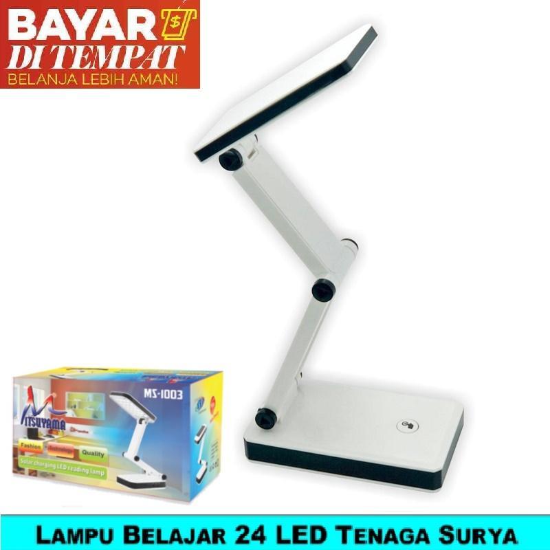 Lampu Belajar/Lampu Baca 24 LED Rechargeable Mitsuyama MS-1003 Hemat Listrik Tenaga Surya