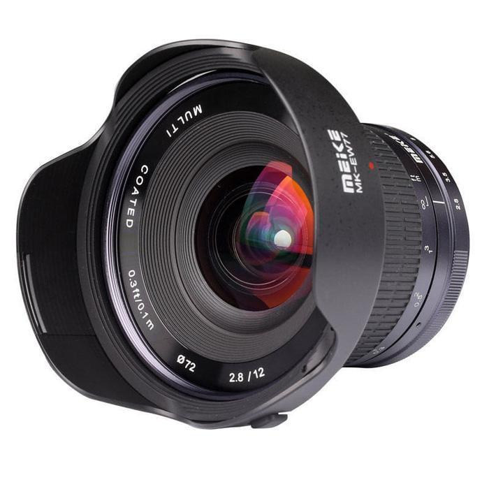 Lensa Meike 12mm APS-C F2.8 Ultra Wide For Fujifilm Mirrorless