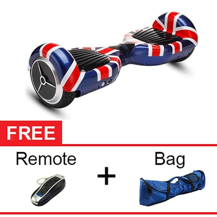 BEST SELLER!!! Cognos Hoverboard Segway 6,5 Two Wheel Balance Scooter - British Flag - g2cstT