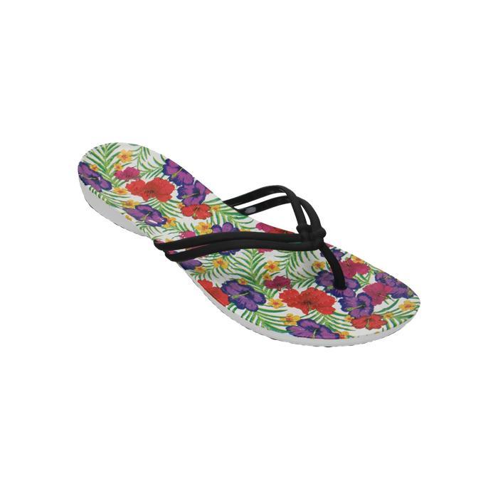 Sandal Olahraga Wanita|Sandal Jepit|Sandal Flip Fliop|Sandal Crocs Original|Sandal Crocs Murah|Crocs Isabella Graphic Flip Flower-2041960CV