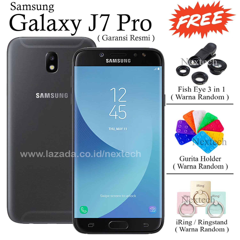 Samsung Galaxy J7 Pro - RAM 3GB - 32GB - Garansi Resmi