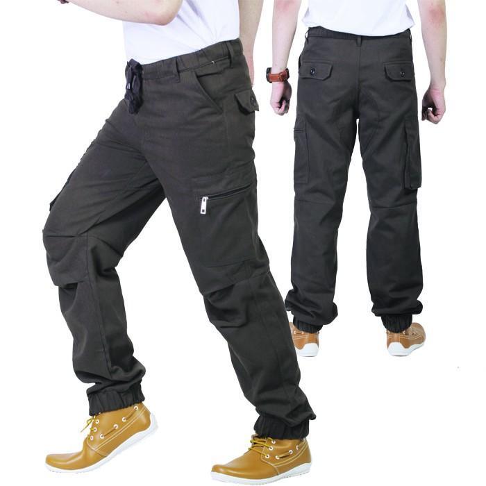 Promo Celana Panjang Pria/Celana Cargo pria/grosir celana cibaduyut/ ISL 976 Fashion