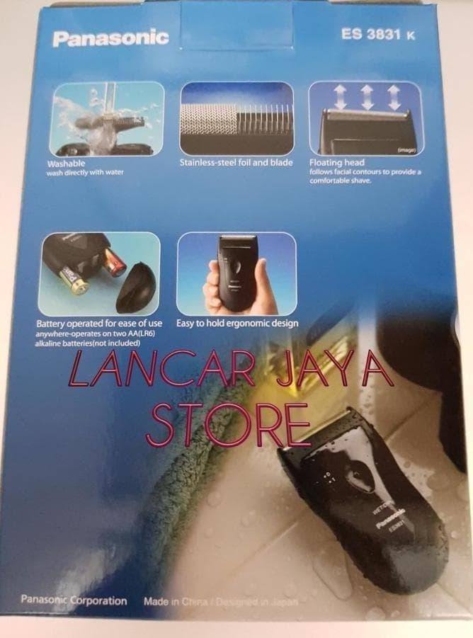 SALE - ALAT CUKUR KUMIS SHAVER PANASONIC ES-3831K