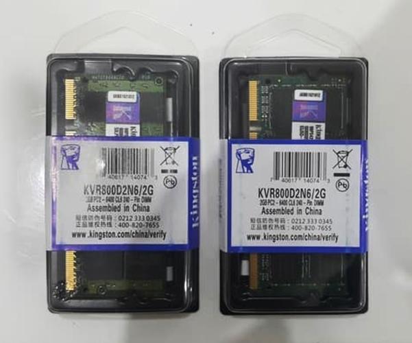 RAM SODIM DDR 2 2GB KINGSTON PC 6400 NEW