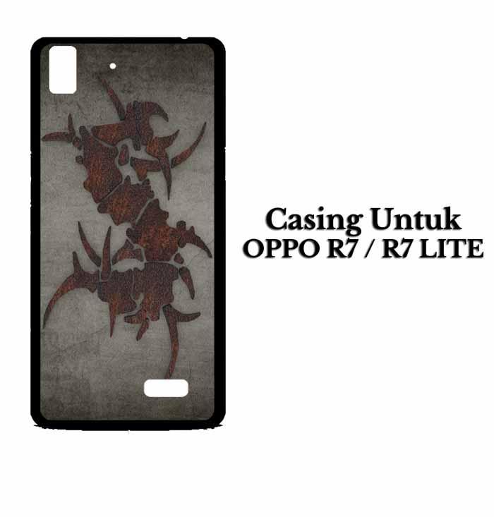 Casing OPPO R7 sepultura dark Hardcase Custom Case Se7enstores