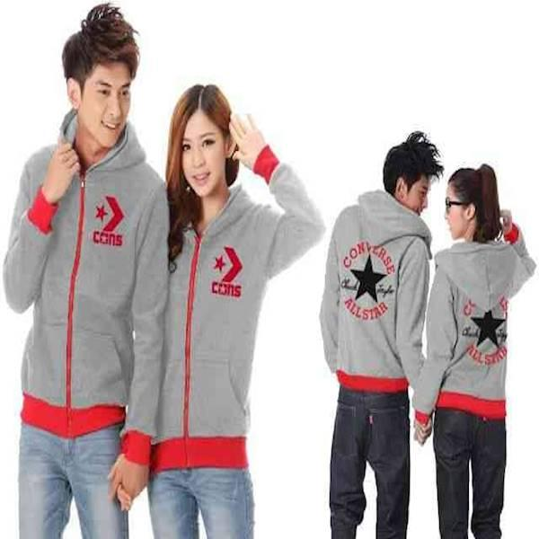 [Couple Converse 02 Abu Misty LO] Couple Jaket Converse Babyterry Abu