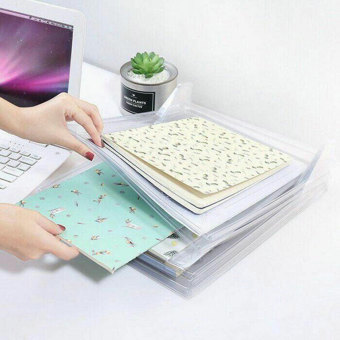 Best Seller - EZSTAX Organizer System - Pemisah Pakaian - Cocok Untuk Travel - Office