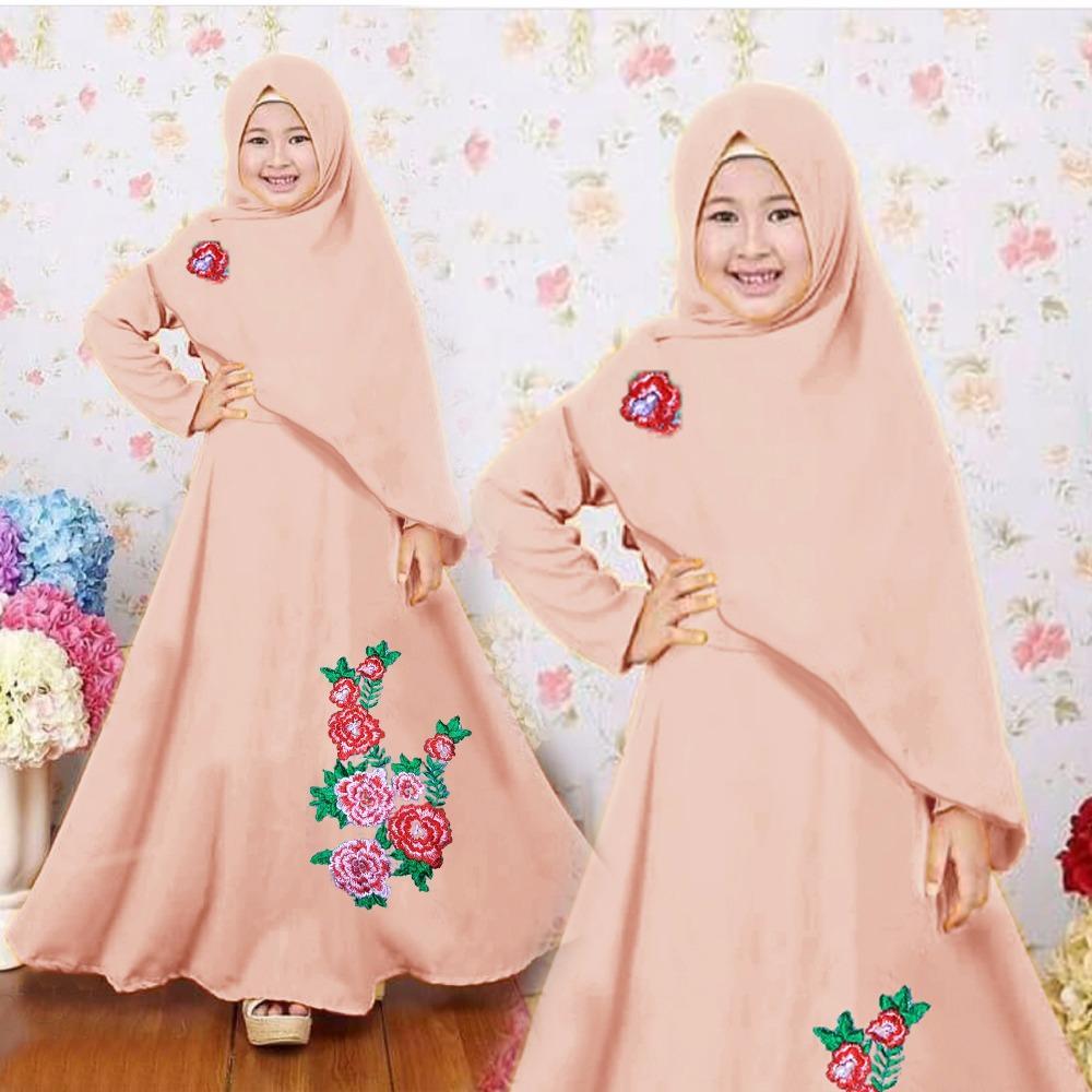 Yuki Fashion Mukena Zaskia Putih Daftar Harga Terbaru Dan Ponco Newone Shop Gamis Syari Anak Wanita New Colour Baju Muslim Perempuan