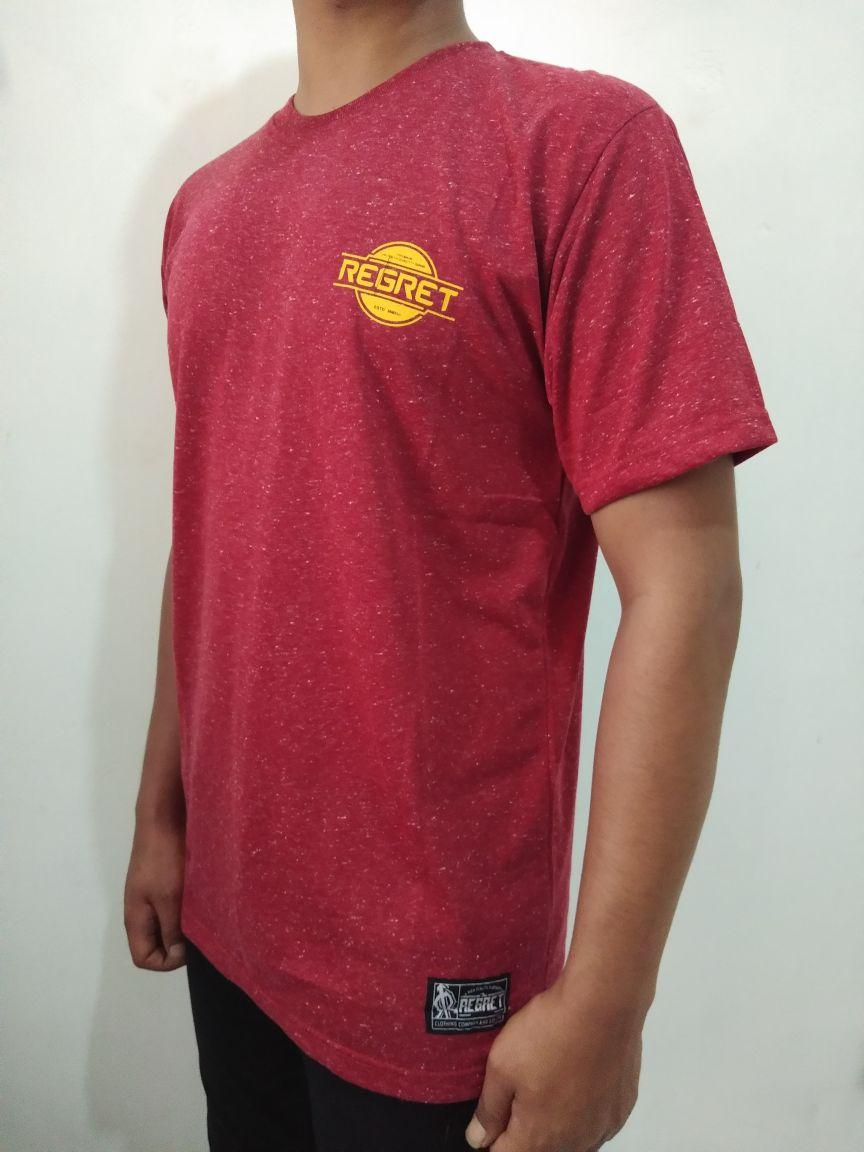 HOT NEW ITEM - Tshirt Distro Original REGRET- Tshirt Pria - KAOS Pria Original