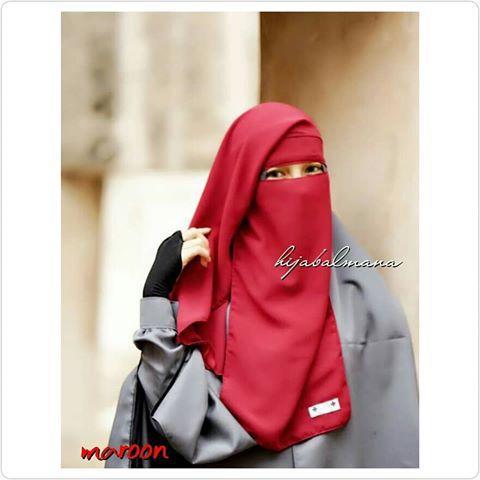 Sosialhijab Cadar Yaman Niqab Niqob Purdah Yaman Kotak Wolfis Wolpeach Premium