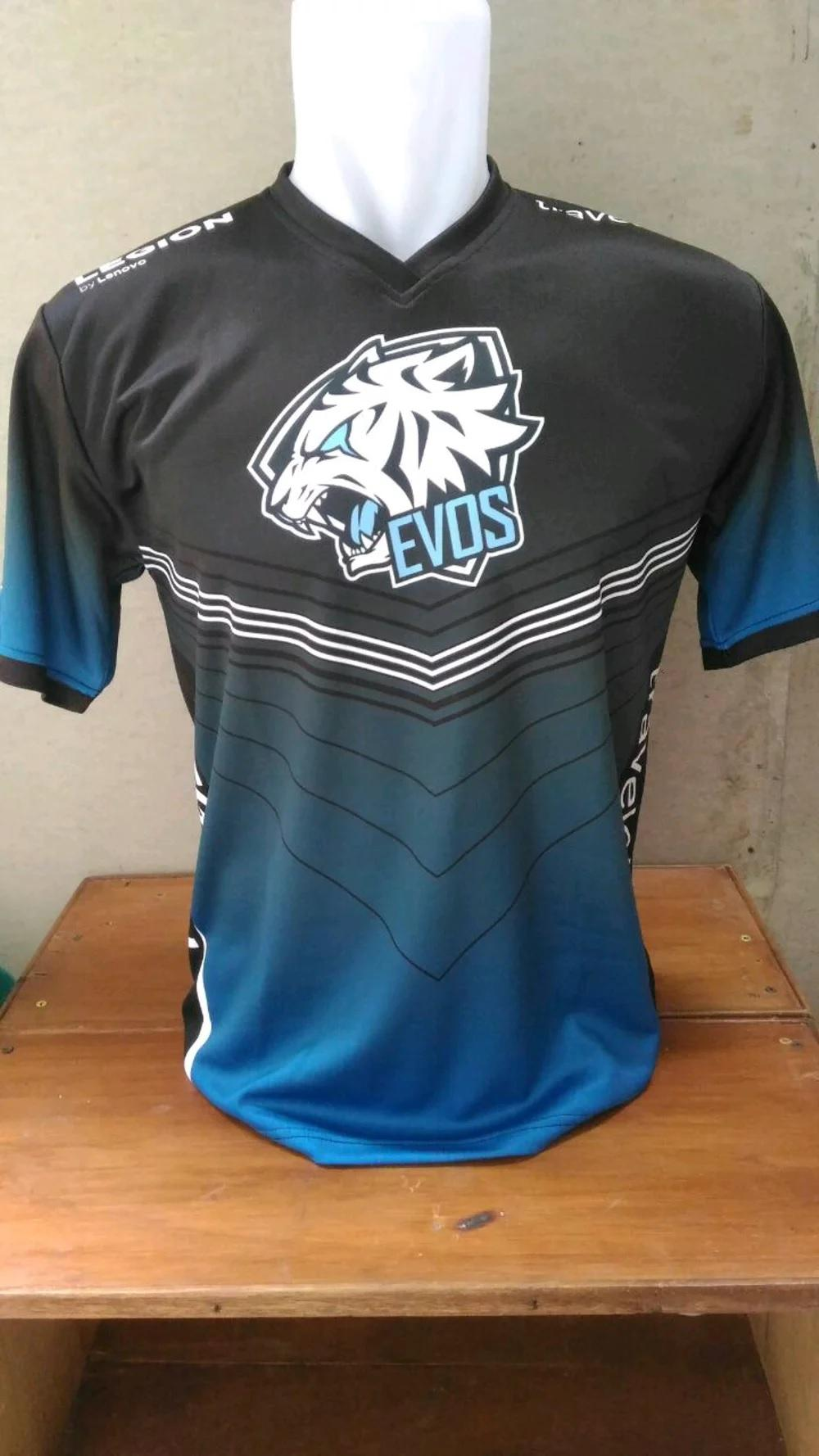 Jersey Kaos Baju Gaming Evos  Mobile Legends Dota Aov