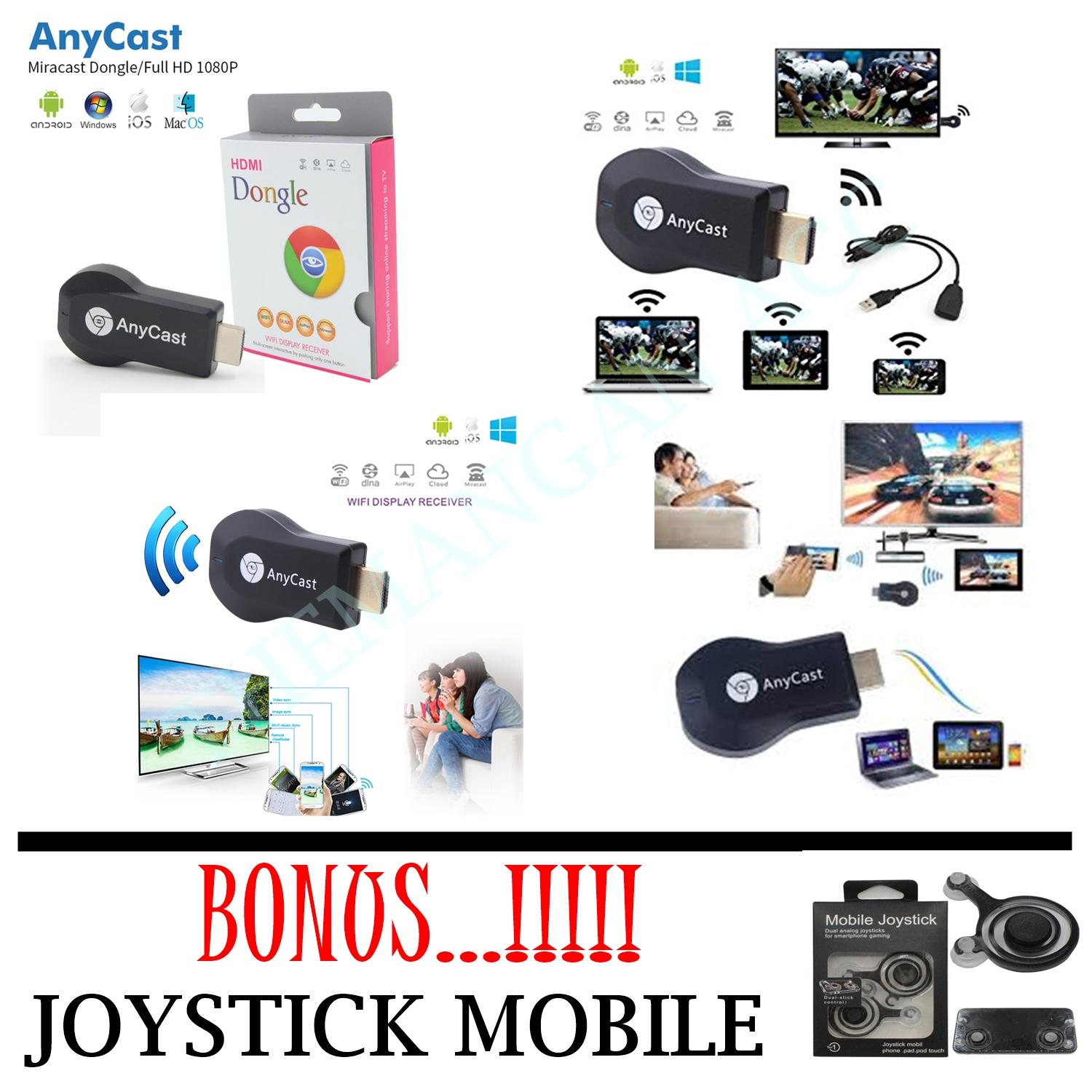 Cek Harga Baru Anycast M2 Plus Dlna Airplay Wifi Display Miracast Tv To Hdmi Dongle Multi Receiver Airmirror Mini Android