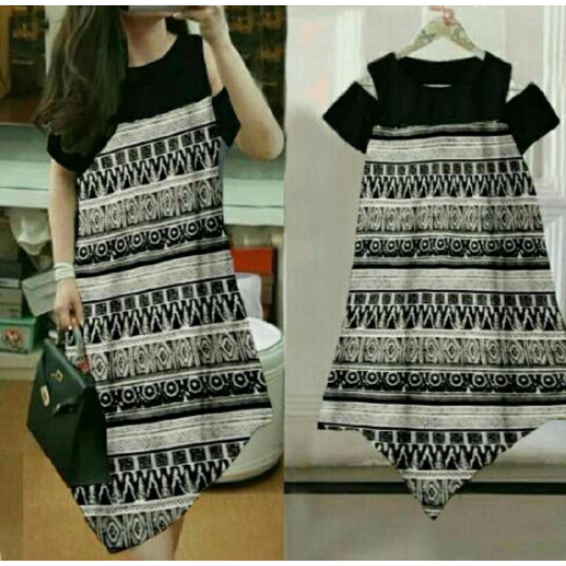 Kafis shop - Dress Tiwi Batik - Dress Wanita
