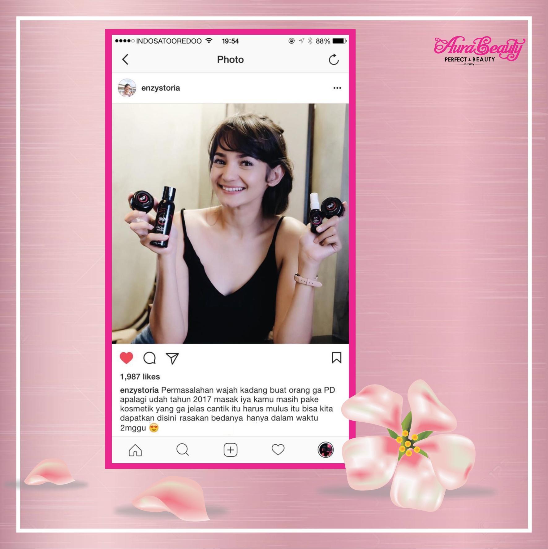 Features Aura Beauty Paket Cream Wajah Tekstur Tidak Normal Glansie Care Drfajar Original Lengket Mencerahkan Dan Memutihkan