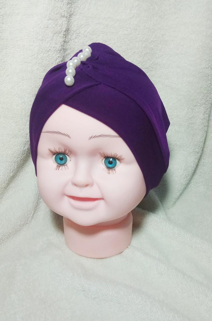 Turban Bayi Anak Mutiara hijab kerudung aksesories headband