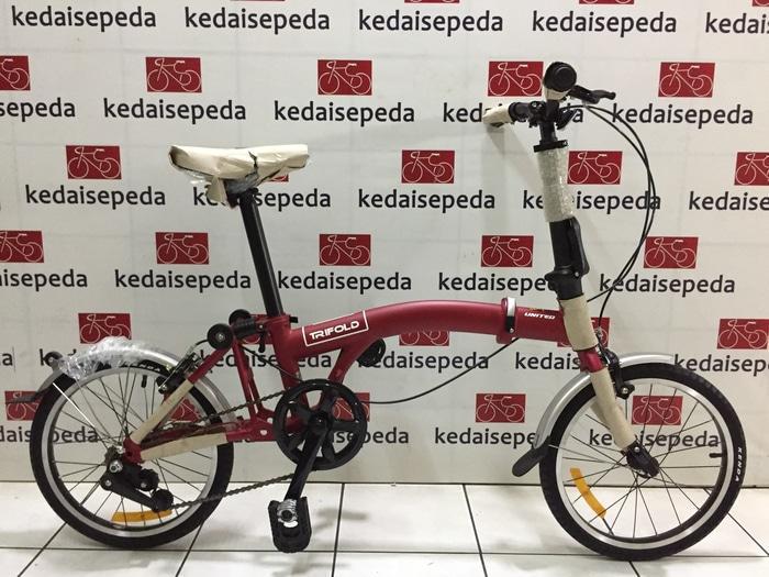 Sepeda Lipat 16 United Trifold - MHlLWa