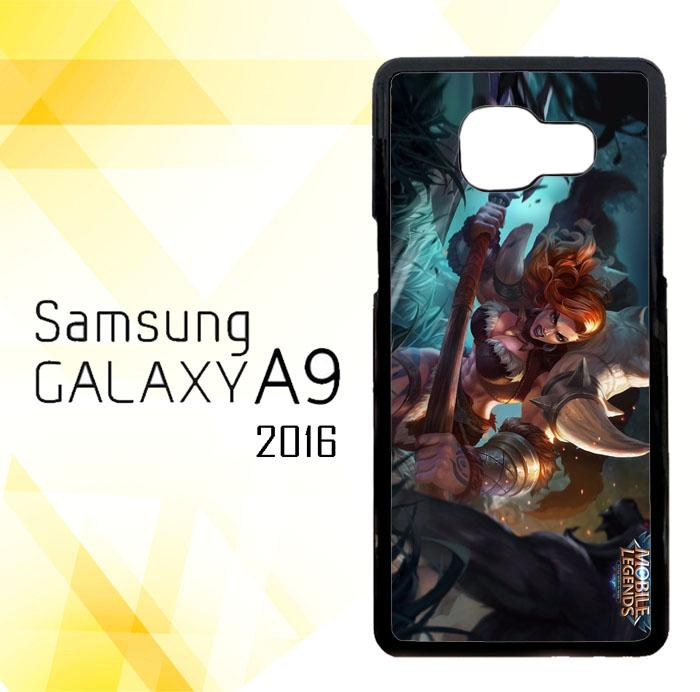 Casing HARDCASE Bergambar Motif Mobile Legend Hilda Power of Megalith U0269 untuk Handphone Samsung Galaxy A9 2016 A9 PRO Case