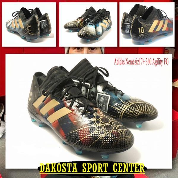 Sepatu Bola Soccer Adidas Nemeziz 17.1 Artwork For Leo Messi