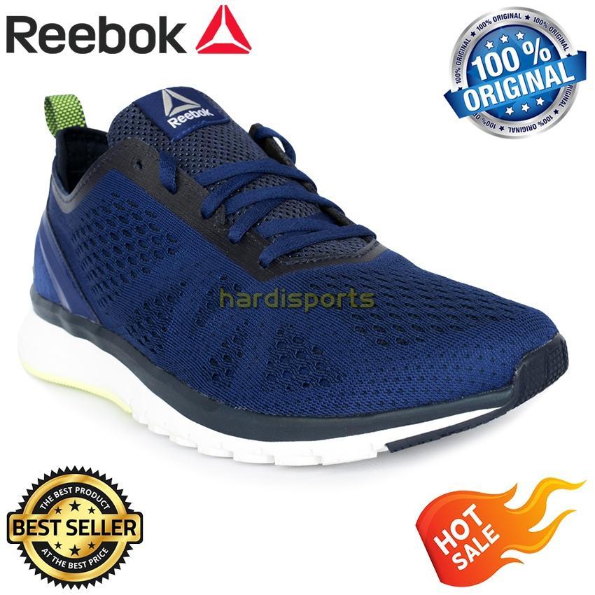 Sepatu Running Pria Reebok Print Smooth Clip ULTK BS5132 - Cobalt Navy