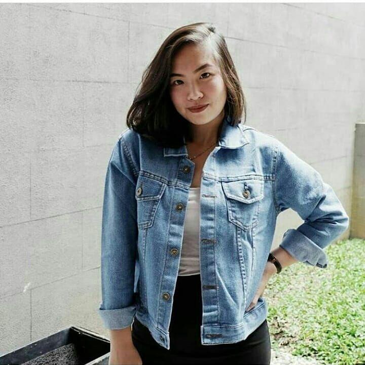 Jaket Jeans Wanita TRIBAL JACKET JEANS Parka Murah Bandung