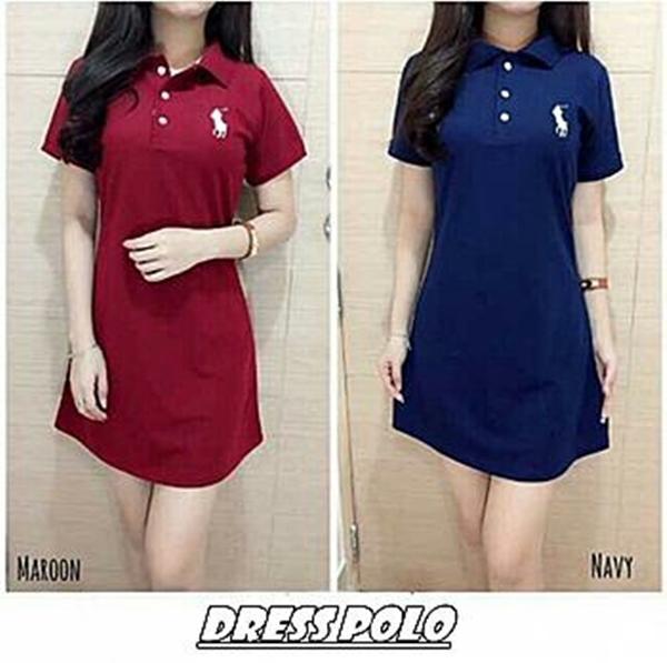 J&C BC- Dress Polo / Dress wanita / Fashion wanita