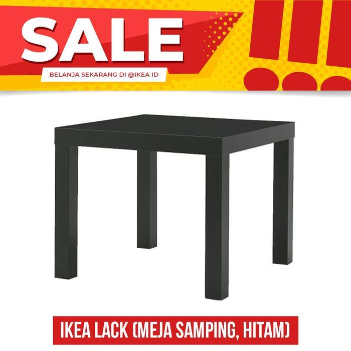IKEA LACK, Meja Samping, Hitam