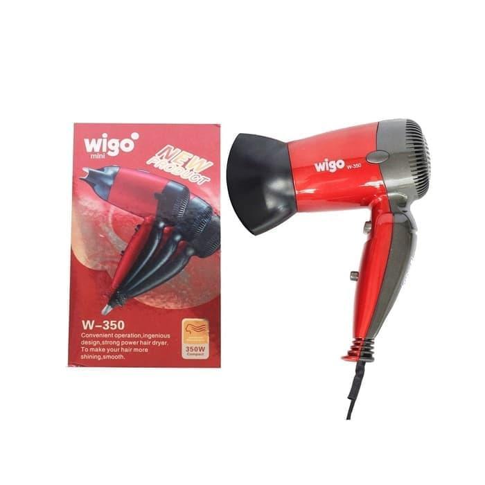 HAIR DRYER lipat WIGO W-350 MERAH ( WIGO ORIGINAL )