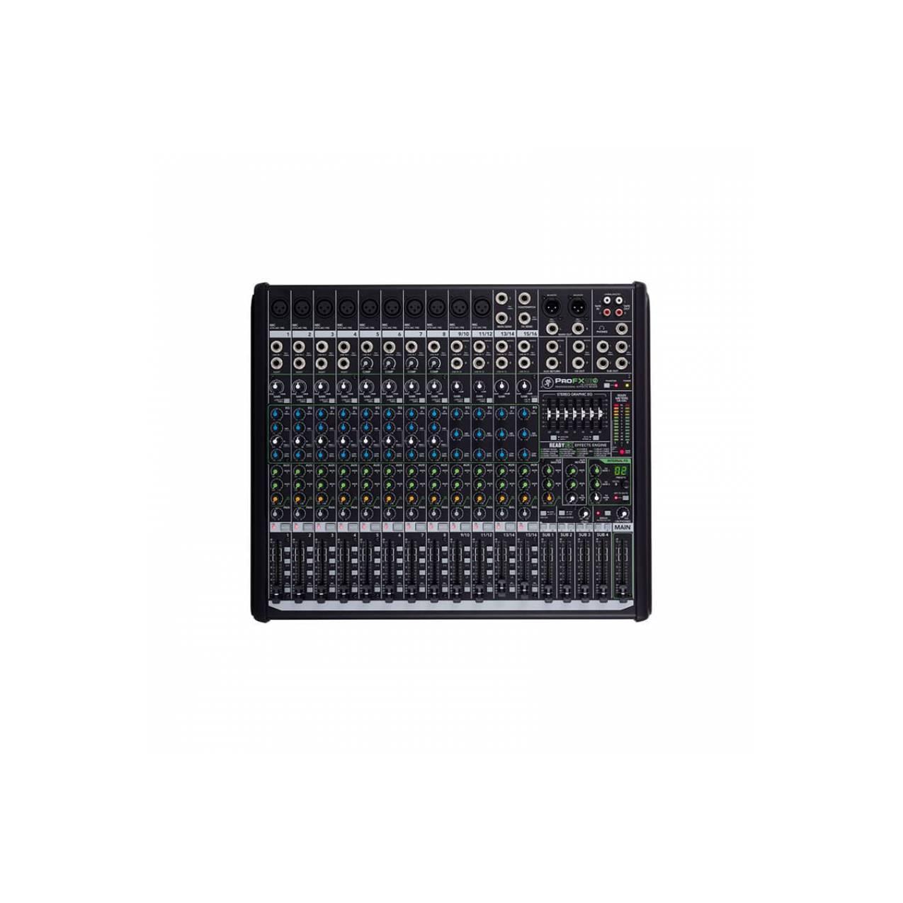 Mixer Mackie Pro FX 16 V2 16 Channel 4 Bus Effects Ori Garansi Resmi