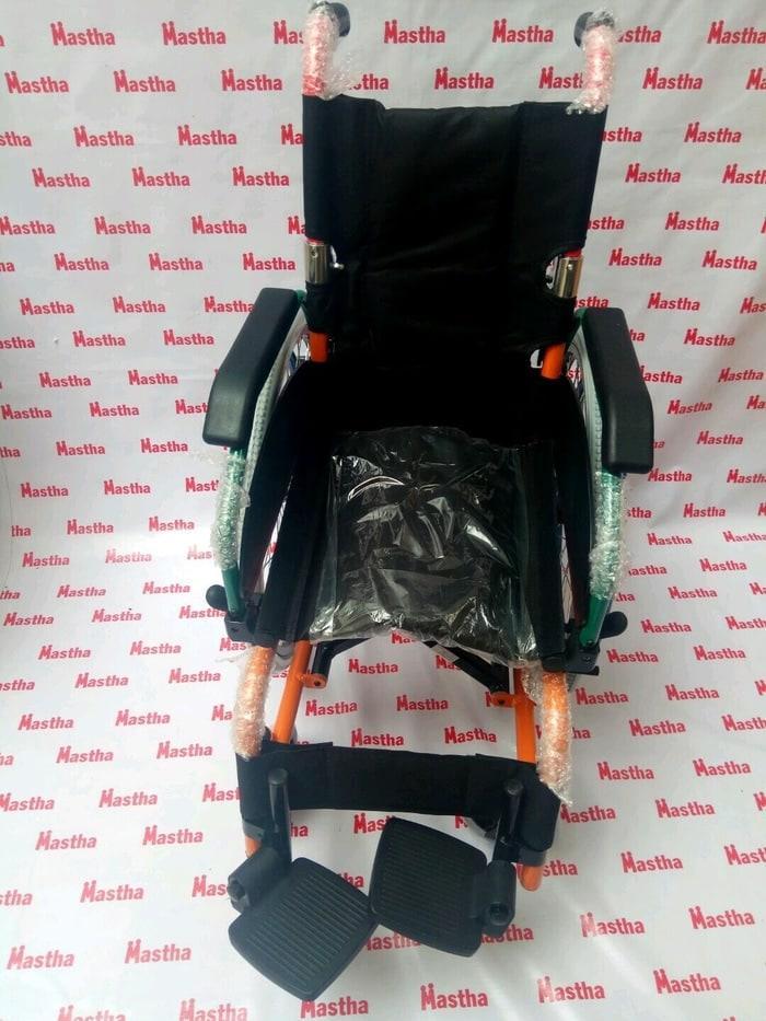 Kursi Roda Aluminium Anak Child GEA FS980LA Patahan + Dua Double Jok