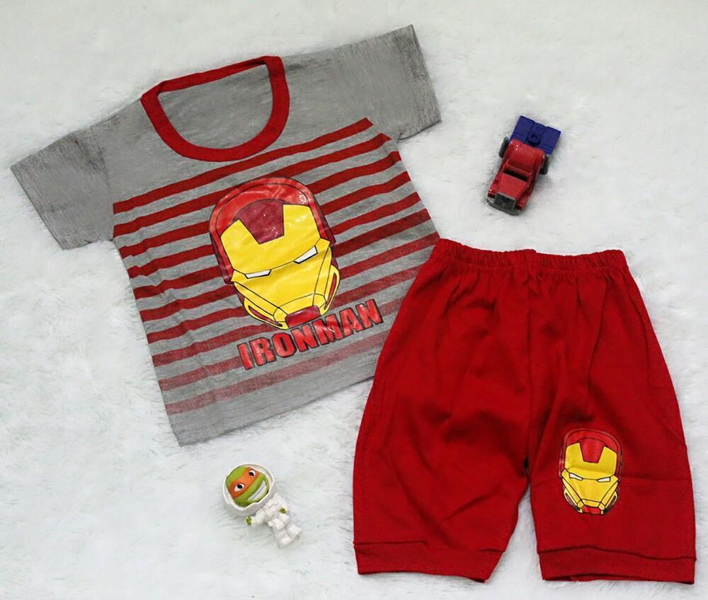Setelan Baju Celana Bayi Anak - Iron Joger Serries