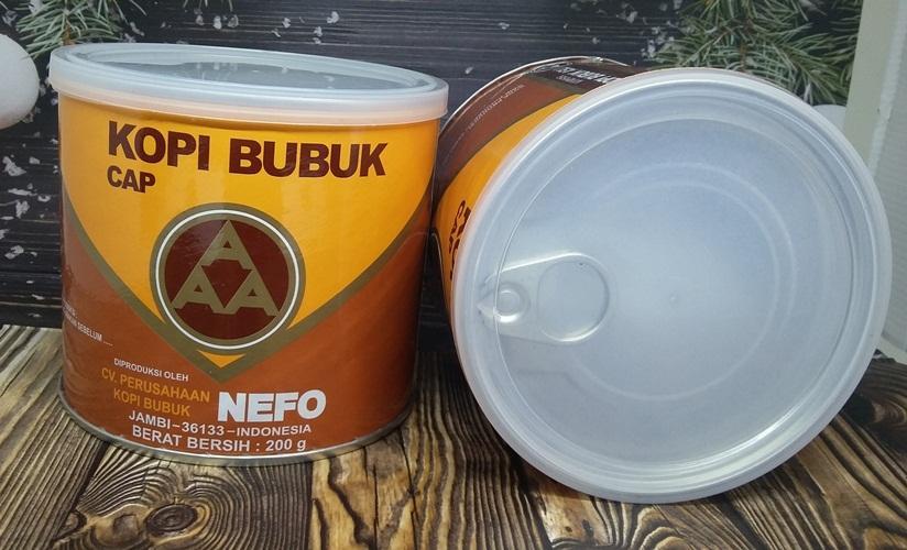 ... Kopi AAA kemasan kaleng 200 gram oleh-oleh jambi kopi jambi sumatera - 3