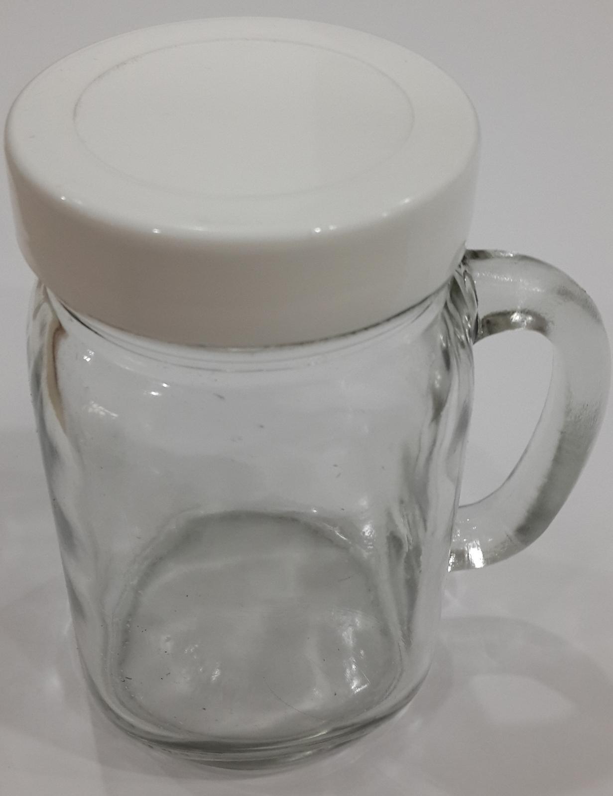 KIG DJ 16C TUTUP Drink Jar Harvest Time Mug Cafe Toples Souvenir Gelas / Gelas DJ16 C Mug Tutup