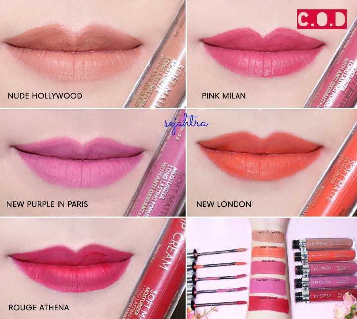 Face 2 Face Soft Matte Lip Cream - New London
