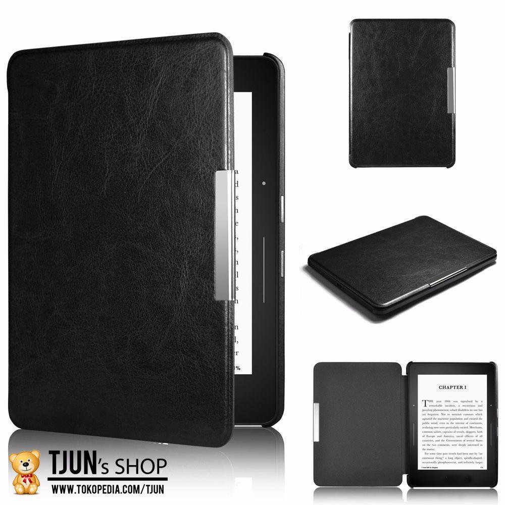 DISKON Kindle Paperwhite Pu Leather Case Black For Paperwhite 1 2 Amazon MURAH MERIAH