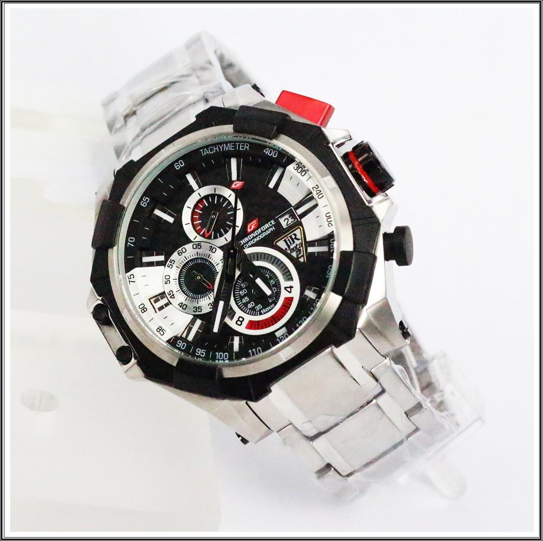 jam tangan pria original Swiss Cronoforce 5209gcbssbb